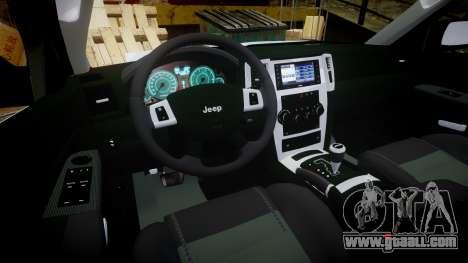 Jeep Grand Cherokee SRT8 stock for GTA 4 back view
