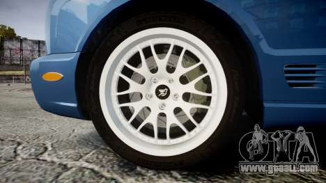 Bentley Arnage T 2005 Rims2 Chrome for GTA 4 back view