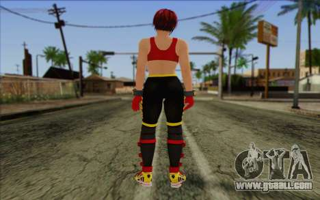 Mila 2Wave from Dead or Alive v7 for GTA San Andreas second screenshot