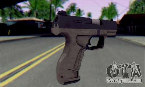 Walther P99 Bump Mapping v1 for GTA San Andreas second screenshot