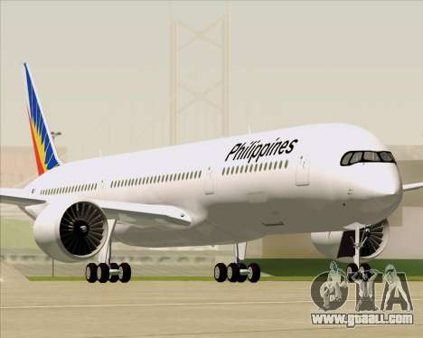 Airbus A350-900 Philippine Airlines for GTA San Andreas engine