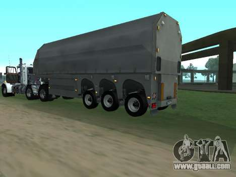 Box Glass Trailer for GTA San Andreas right view