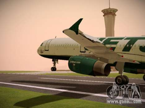 Airbus A321-232 jetBlue NYJets for GTA San Andreas