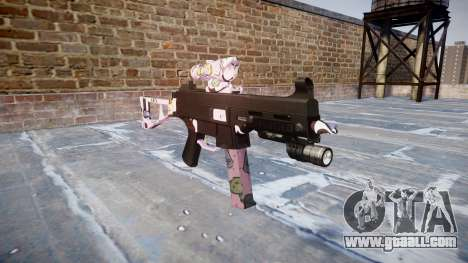 Gun UMP45 Kawaii for GTA 4