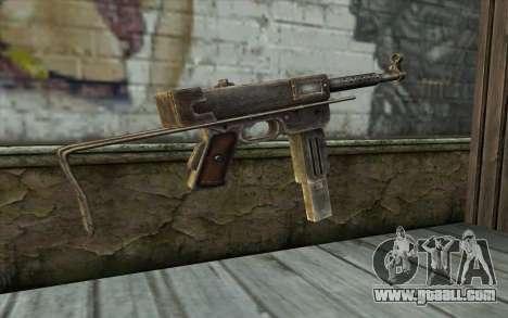 MAT-49 from Battlefield: Vietnam for GTA San Andreas second screenshot