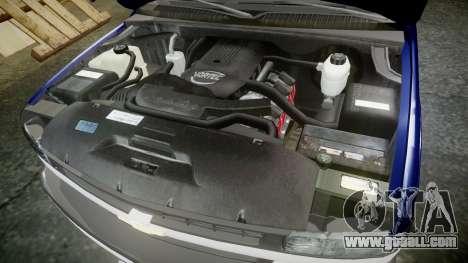 Chevrolet Suburban Undercover 2003 Grey Rims for GTA 4 inner view