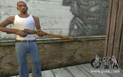 The Mosin-v9 for GTA San Andreas third screenshot