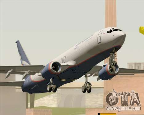 Boeing 737-8LJ Aeroflot - Russian Airlines for GTA San Andreas right view