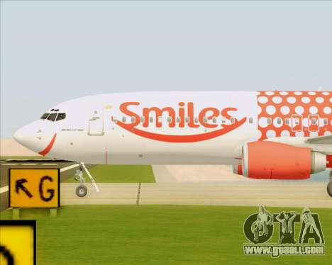 Boeing 737-800 Gol Transportes Aéreos for GTA San Andreas