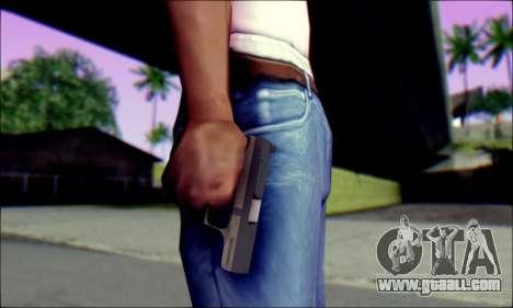 Walther P99 Bump Mapping v1 for GTA San Andreas third screenshot