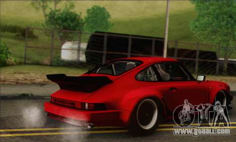 Porsche 930 Turbo Look 1985 Tunable for GTA San Andreas side view