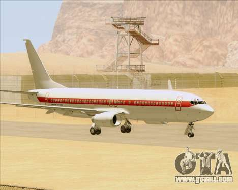 Boeing 737-800 EG&G - Janet for GTA San Andreas back view
