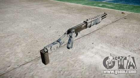 Ружьё Franchi SPAS-12 Skulls for GTA 4 second screenshot