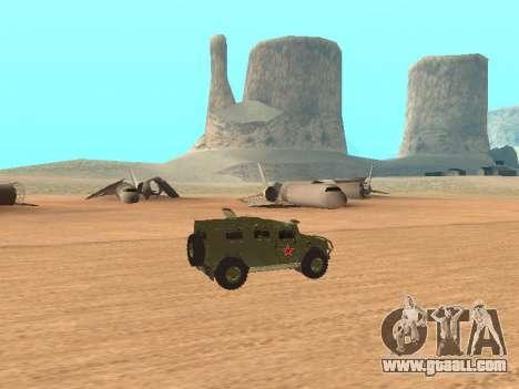 GAZ 2975 for GTA San Andreas left view