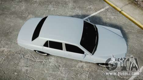 Bentley Arnage T 2005 Rims1 Chrome for GTA 4 right view