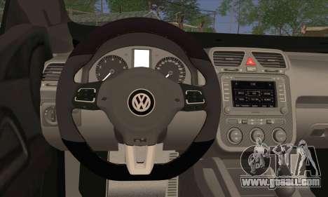 Volkswagen Scirocco 2011 for GTA San Andreas back left view
