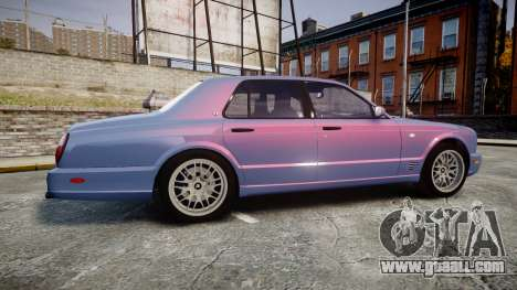 Bentley Arnage T 2005 Rims2 Black for GTA 4 left view