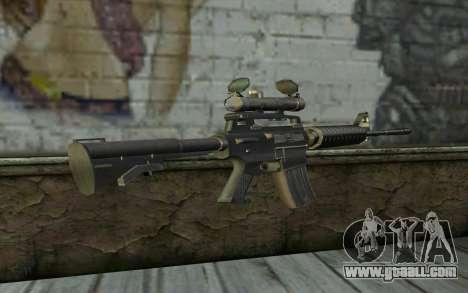 M4 from Hitman 2 for GTA San Andreas second screenshot
