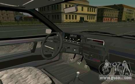 VAZ 2108 Turbo-TAZ for GTA San Andreas right view