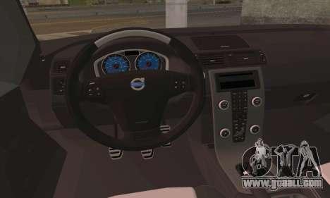 Volvo XC70 K9 Politie for GTA San Andreas back left view