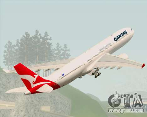 Airbus A330-300 Qantas (New Colors) for GTA San Andreas
