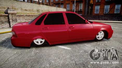 VAZ-2170 Priora alloy wheels for GTA 4 left view