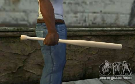 Baseball Bat from Cutscene for GTA San Andreas third screenshot