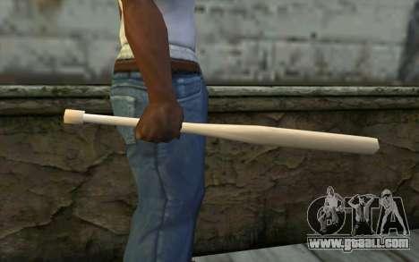 Baseball Bat from Cutscene for GTA San Andreas third screenshot