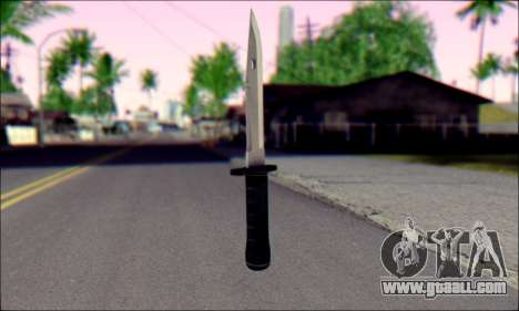 Knife from Death to Spies 3 for GTA San Andreas second screenshot