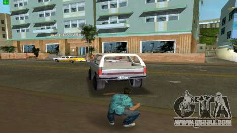 Ford Bronco 1985 for GTA Vice City back left view