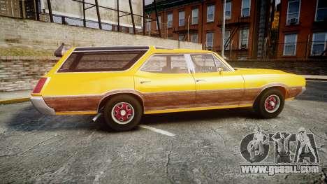 Oldsmobile Vista Cruiser 1972 Rims2 Tree3 for GTA 4 left view