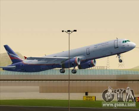 Airbus A321-200 Aeroflot - Russian Airlines for GTA San Andreas