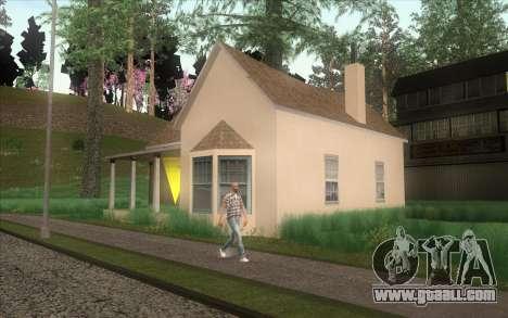 New CJ house in Angel Pine for GTA San Andreas forth screenshot