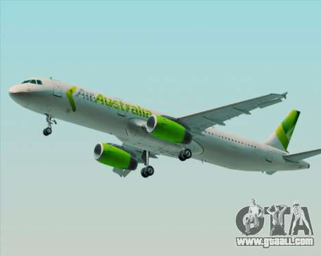 Airbus A321-200 Air Australia for GTA San Andreas wheels