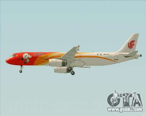 Airbus A321-200 Air China (Beautiful Sichuan) for GTA San Andreas engine