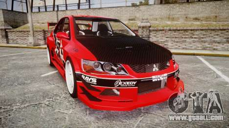 Mitsubishi Lancer Evolution IX Fast and Furious for GTA 4