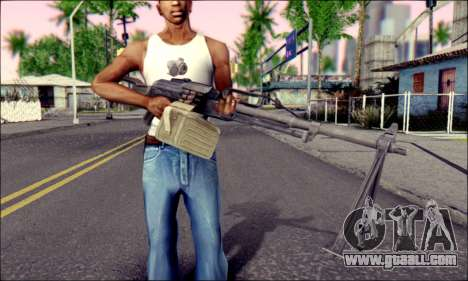 Control panel Pecheneg (ArmA 2) for GTA San Andreas third screenshot