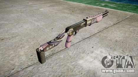 Ружьё Franchi SPAS-12 Kawaii for GTA 4 second screenshot