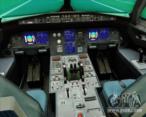 Airbus A321-200 Aer Lingus for GTA San Andreas interior