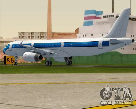 Airbus A321-200 American Pacific Airways for GTA San Andreas right view