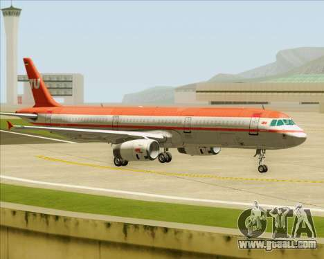 Airbus A321-200 LTU International for GTA San Andreas engine