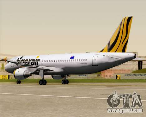 Airbus A320-200 Tigerair Australia for GTA San Andreas side view