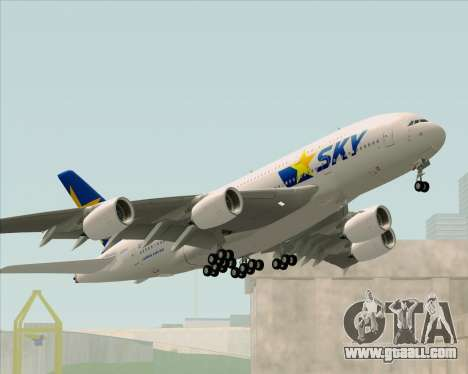 Airbus A380-800 Skymark Airlines for GTA San Andreas