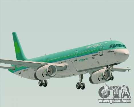 Airbus A321-200 Aer Lingus for GTA San Andreas