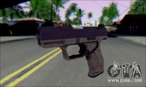 Walther P99 Bump Mapping v1 for GTA San Andreas