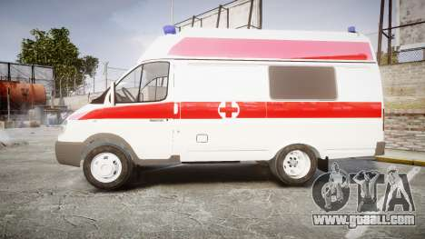 GAS-32214 Ambulance for GTA 4 left view