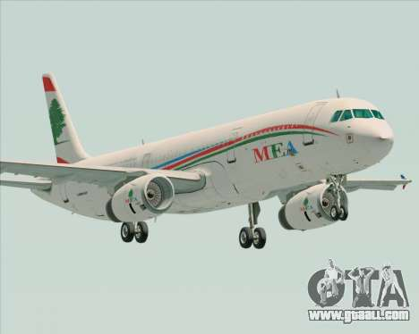 Airbus A321-200 Middle East Airlines (MEA) for GTA San Andreas
