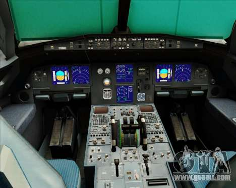 Airbus A321-200 Austrian Airlines for GTA San Andreas interior