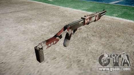 Ружьё Franchi SPAS-12 Bloodshot for GTA 4 second screenshot