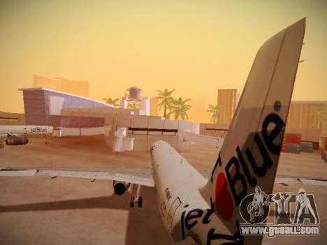Airbus A321-232 jetBlue I love Blue York for GTA San Andreas